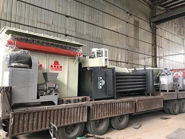 木炭机生产线发huo